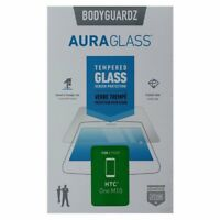 BodyGuardz AuraGlass Tempered Glass Screen Protector for HTC One M10 - Clear