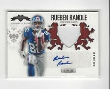 2012 R&S Rookie Crusade Red #23 Rueben Randle AUTOGRAPH PATCH Giants /25