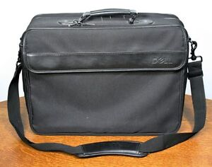 Large DELL Laptop Nylon Briefcase Bag. DN22 Shoulder Carrying Case. High Quality