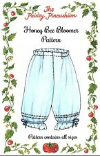 Honey Bee Bloomer Pattern by Paisley Pincushion
