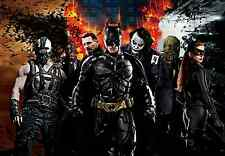 THE DARK KNIGHT RISES BATMAN BANE LARGE ART PICTURE POSTER WHOLE POSTER A1