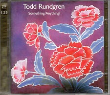 "TODD RUNDGREN ""SOMETHING / ANYTHING?"" RARE DOUBLE CD / GUITAR HERO - ROCK"