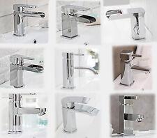 CASCADE WATERFALL & BATHROOM MONO BASIN MIXER TAP SET | FREE CLICK CLACK WASTE
