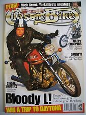 Classic Bike Magazine. No. 197. June, 1996. Ducati's first L-twin gets a thrashi