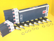 AC Spark Plug 42XLS with GREEN STRIPE RINGS Set of 8