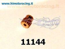 PIGNONE 11144 14 DENTI X MODELLI ELETTRICI 1/10 MODULO 0.6 MOTOR GEAR HIMOTO