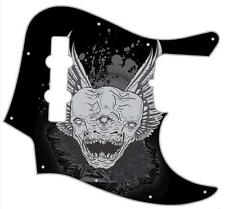 J Jazz Bass Pickguard Custom Fender Graphic Graphical Guitar Pick Guard Triclops