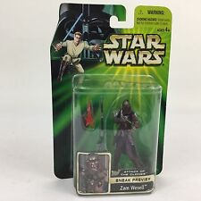 Hasbro Star Wars Attack Of The Clones Sneak Peak Zam Wesell Action Figure MOC