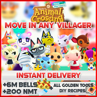 ANIMAL CROSSING NEW HORIZONS - ANY VILLAGER
