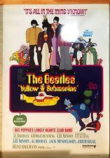 1999 YELLOW SUBMARINE THE BEATLES VINTAGE MOVIE POSTER PRINT 36x24 9MIL PAPER