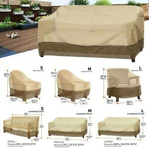 Waterproof Patio Chair Cover Couch Chair Slipcover Outdoor Furniture Protector