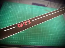 VW Golf Mk7 & MK6 GTI 3 Door Sill Protector Graphics Thick High Quality Vinyl