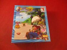 Super Mario Sunshine Nintendo Gamecube 100 Piece Jigsaw Puzzle COMPLETE w/ Box