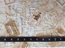 Fabric 100% Cotton Timeless Treasures Wine Map