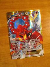 NM Full Art Pokemon Volcanion EX Carte Vapeur siège SET 115/114 XY secret rare