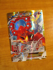 NM FULL ART Pokemon VOLCANION EX Card STEAM SIEGE Set 115/114 XY Secret Rare TCG