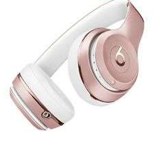 BEATS BY DR DRE Solo 3 Wireless Bluetooth Headphones Rose Gold- %100 Genuine