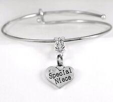 Niece Bracelet Special Niece charm bracelet best Niece jewelry present or gift