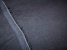 100% LINEN FABRIC ~ DARK BLUE GRAY ~ PRICE PER YARD ~ lovely!
