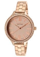 Caravelle by Bulova Women's 44L125 Analog Quartz Rose Gold Watch
