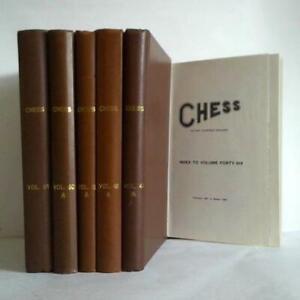 Chess - Sutton Coldfield England. Index to Volume 46 - 51, Nos. 851 - 1002, Febr