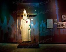 8x10 Print KKK Ku Klux Klan Exhibit Birmingham AL 1948 #KK99