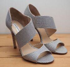 L.K. Bennett 100% Leather Animal Print Heels for Women