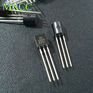 2/5/10/20pc 2N3906 40V 200mA 625mW PNP GP Power Amp Switching Transistor TO-92