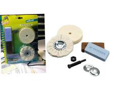 kit disques feutre de polissage + 2 pate a polir Kit metal chrome jumo bakelite
