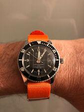 Orologio sub diver scuba vintage SICURA BREITLING Mod. SUBMARINE 200 Trizio!!!