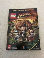 Lego Indiana Jones Prima Strategy Guide Book Xbox 360 Psp Ps3 Ps2 Wii DS PC game