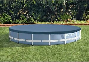 Intex 15ft Round Metal Frame Pool Cover