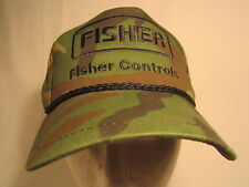 Men's Cap FISHER CONTROLS Size: Adjustable [Z164a]