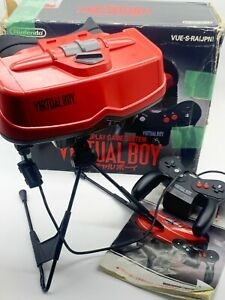 Vintage Video Game Nintendo Virtual Boy Console Boxed *Japanese Import* (1)