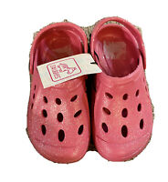 Swiggles Toddler Girls Size 9-10 Pink Glitter Clogs New with Tags