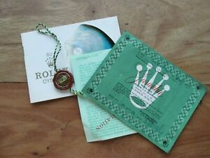 ANTIQUE ROLEX WATCH ADVERTISING PAPERS DETAILS OF USED