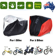 Single/Double/Triple Bicycle Bike Cycle Cover Waterproof Outdoor Dust Protection