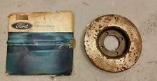 NOS GENUINE FORD FRONT DISC BRAKE DISC MK1 CORTINA