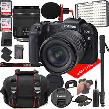 Canon Eos Rp Mirrorless Digital Camera Bundle With 24-105Mm F/4-7.1 Stm Lens + L