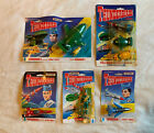 LOT OF BILINGUAL 1994 MATCHBOX THUNDERBIRDS DIECAST FIGURES - NEW OLD STOCK