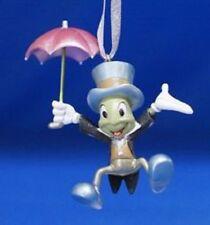 RARE Disney 2006 Jiminy Cricket with Red Umbrella Pinocchio Ornament NIB