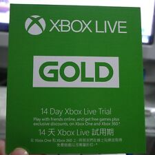 XBOX LIVE 14 DAYS TRIAL GOLD CODE  KEY / 2 WEEKS  WORLDWIDE - Fast DELIVERY