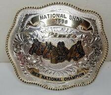 Pinto Res National Champion Show 1998 Winner Montana silversmith Columbus