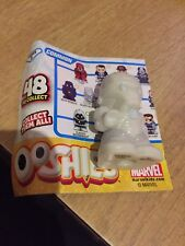 Brand New Marvel Series 3 Silver Ironman Ooshie Pencil Toppers
