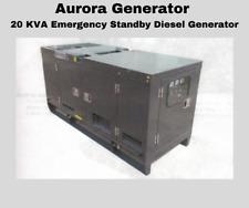 New Aurora Generator 20 Kva Emergency Standby Diesel Generator