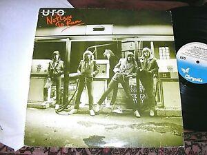 UFO   -      No Place To Run,       ORIGINAL 1980 UK LP..... NICE COPY