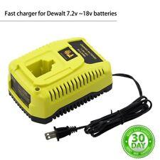 For Dewalt DC9310 Battery Charger 7.2v-18v Fast Charge DC9096 DC9099 Ni-Cd Ni-Mh