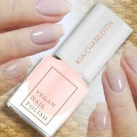 Kia-Charlotta Vegan Nail Polish BELIEVE transparent-pinker Nagellack 5ml 14-FREE