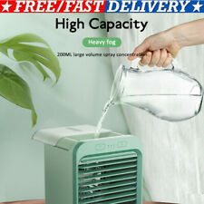 Portable USB Mini Rechargeable Water-cooled Air Conditioner Desktop Cooler Fan##
