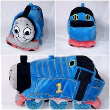 "THOMAS THE TRAIN Tank Engine 15"" Cuddle Pillow Soft Plush Stuffed Toy Doll"